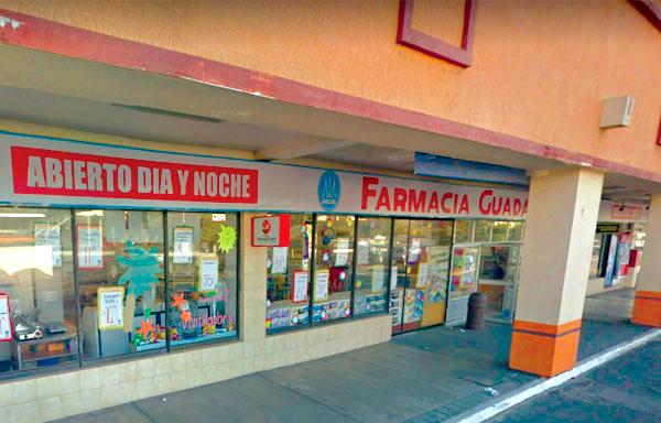 Farmacias Guadalajara Edo. México