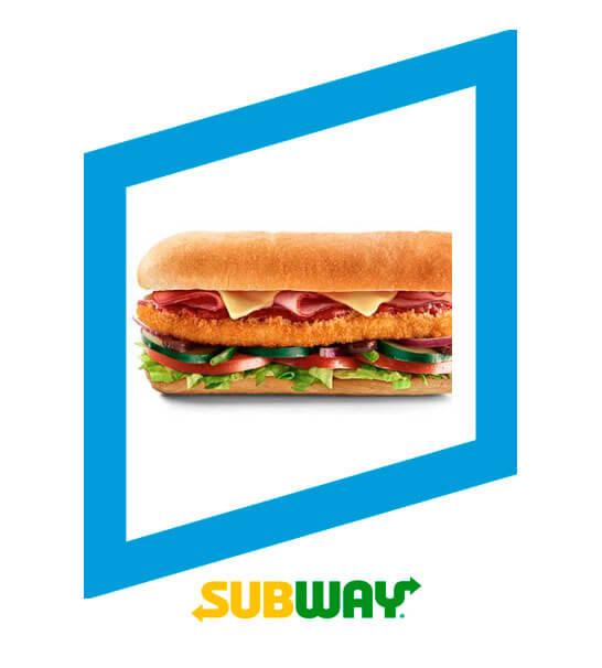 Subs de milanesa de pollo - Subway