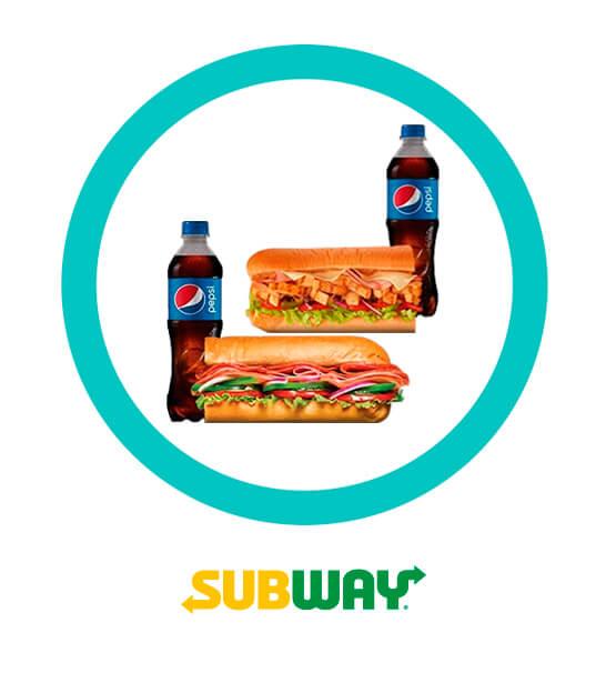 Acompañado es mejor - Subway