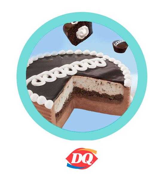 Por tiempo limitado, disfruta del pastel de Mini Pingüinos Blizzard - Dairy Queen