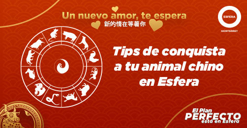 Tips de conquista a tu animal chino en Esfera 💙