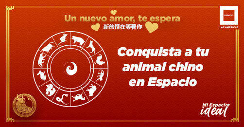 Conquista a tu animal chino en Espacio 💙