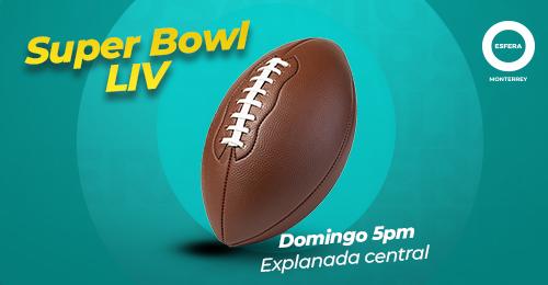 Disfruta el Super Bowl y pásala bien en Esfera