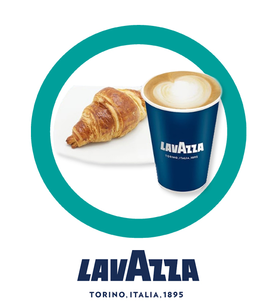 Late + Croissant $69.00 - LAVAZZA
