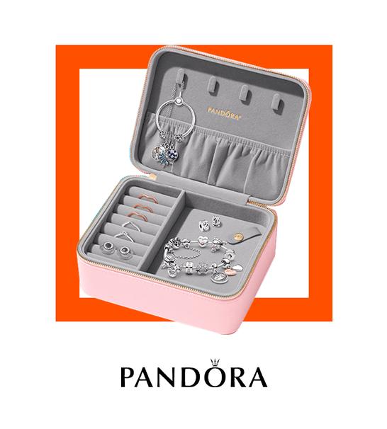 Llévate un joyero de regalo por tus compras en Pandora - Pandora