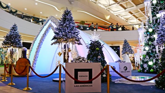 Life Centers - La Blanca y Mágica Navidad llegó a Espacio Las Américas