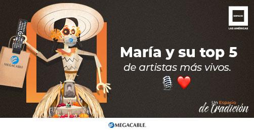 María y su top 5 de artistas más vivos ❤️