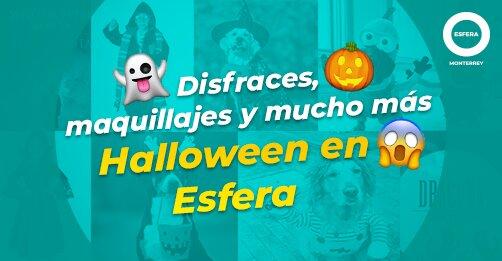 Disfraces, maquillajes y mucho más Halloween en Esfera. 😱🎃👻
