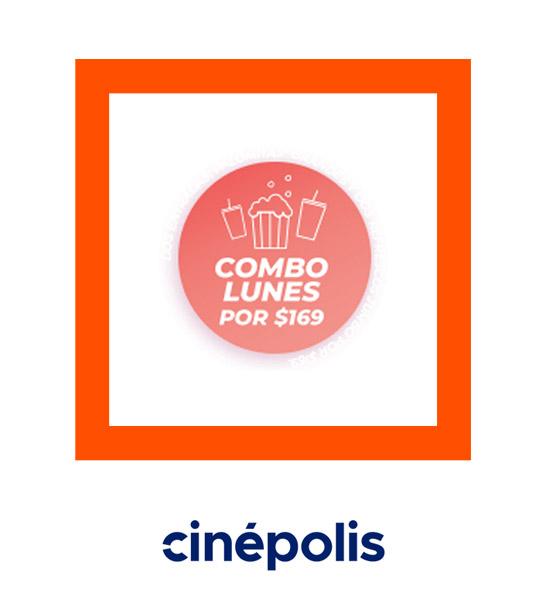 Combo Lunes - Cinépolis