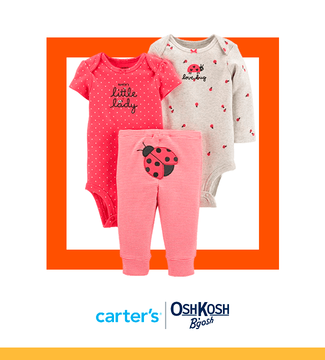 Evento baby love - OSHKOSH & CARTERS