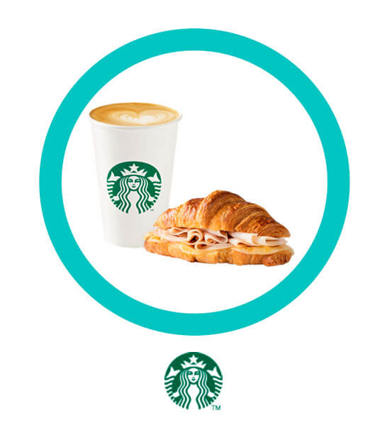 La combinación perfecta todo el día - STARBUCKS