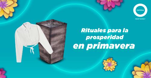 Rituales para la prosperidad en primavera