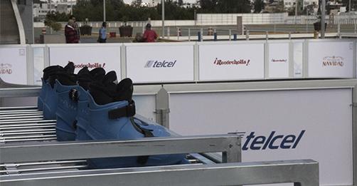 En Espacio Las Américas inauguramos una pista ecológica gracias a Telcel.