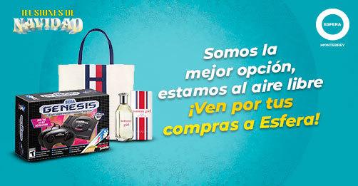 Al aire libre se compra mejor. ¡Ven por tus regalos a Esfera!