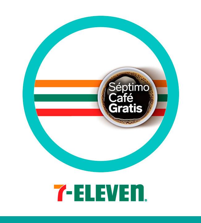 Séptimo café gratis - 7Eleven