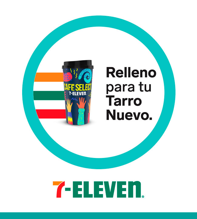 Relleno para tu tarro nuevo - 7Eleven