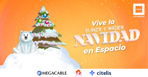 Blanca y Mágica Navidad en Espacio Las Américas