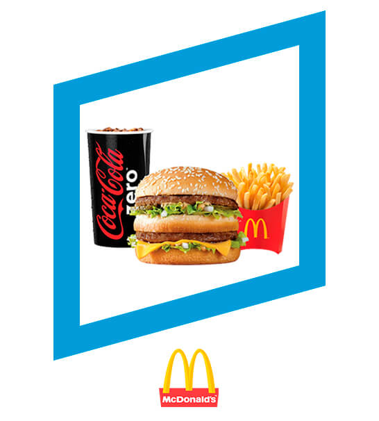 Salte con la tuya Mc Trío 3x3 (3 sabores, 3 tamaños, 3 precios) - MC DONALD'S
