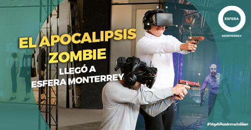 El Apocalipsis Zombie se adueñó de Esfera Monterrey