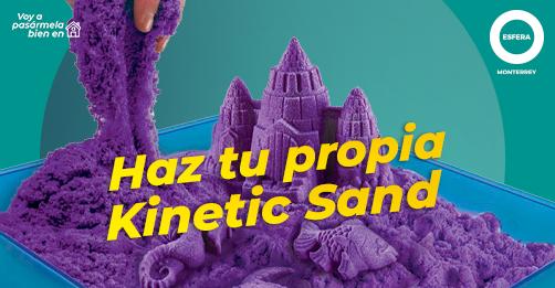 ¡Haz tu propia kinetic Sand!