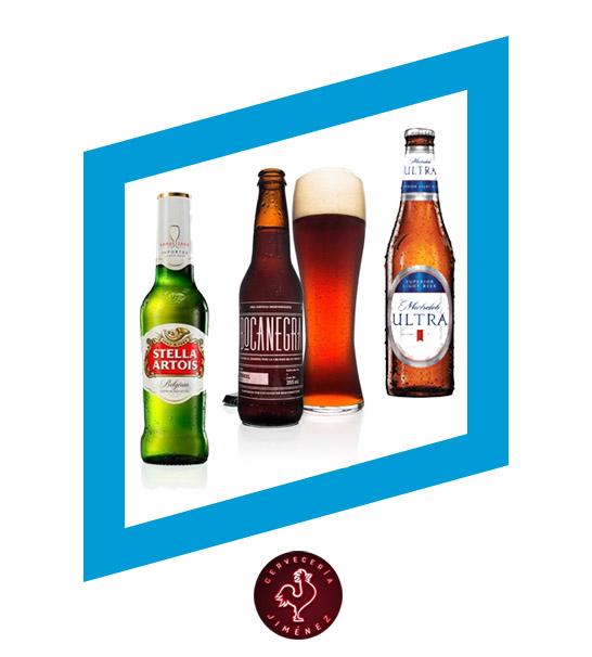 Cerveza a $20 - CERVECERÍA JIMÉNEZ