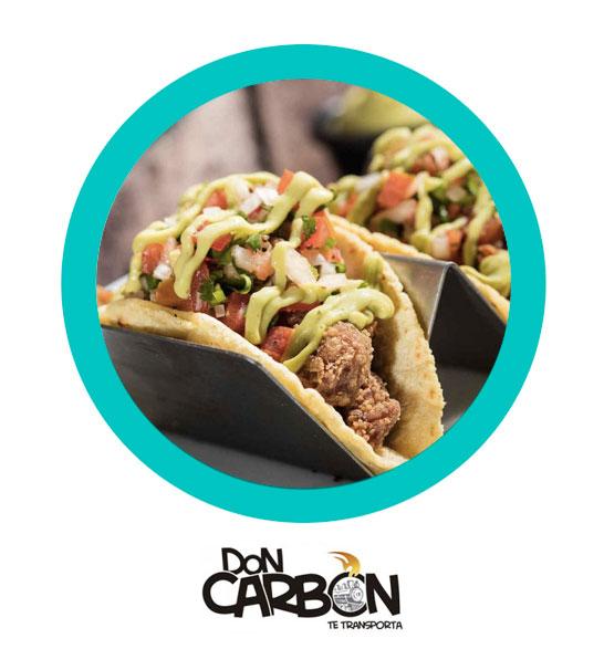 2x1 en tacos - Don Carbón