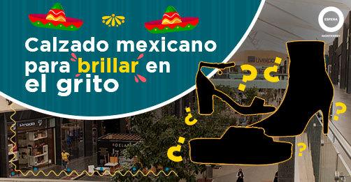 Calzado mexicano para brillar en el grito