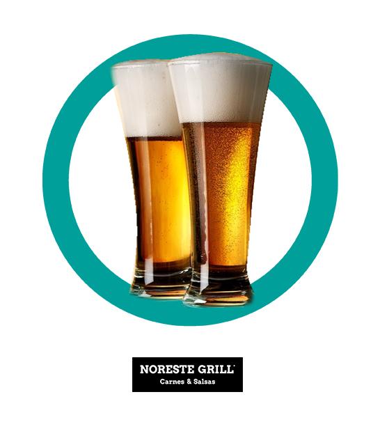 2x1 en Cervezas - NORESTE GRILL